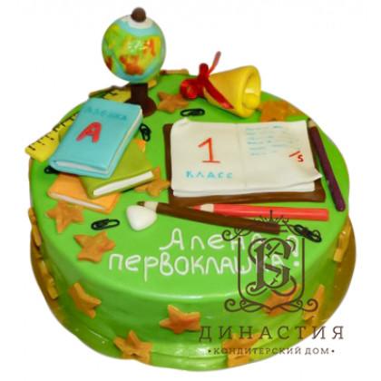Торт в подарок на день знаний