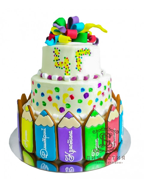 Торт для выпускников начальной школы