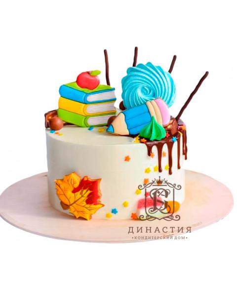 Торт Зефирка на 1 сентября