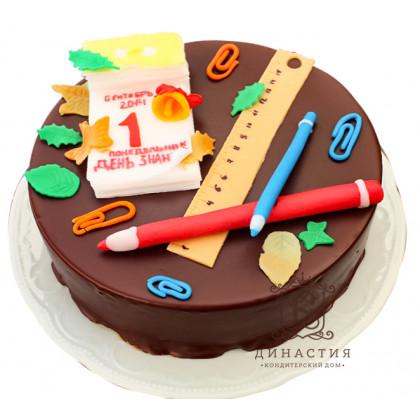 Торт Шоколадный ко дню знаний