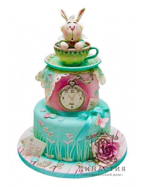 Торт Белый Кролик