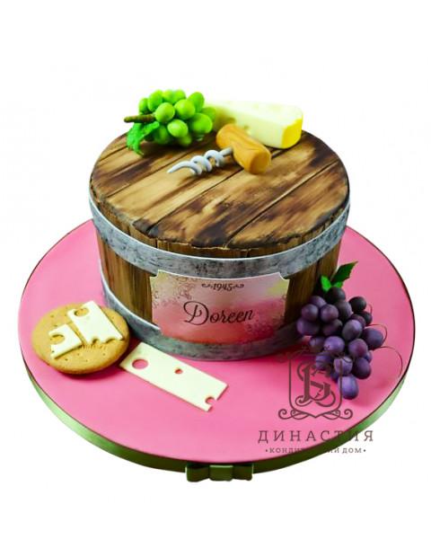 Торт Винная кадка