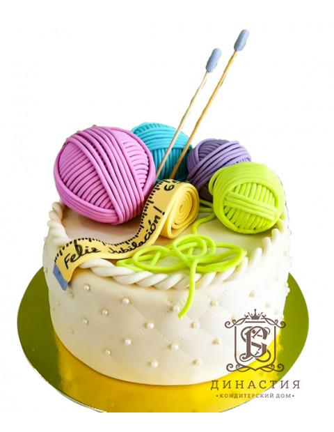 Торт Вязальный набор