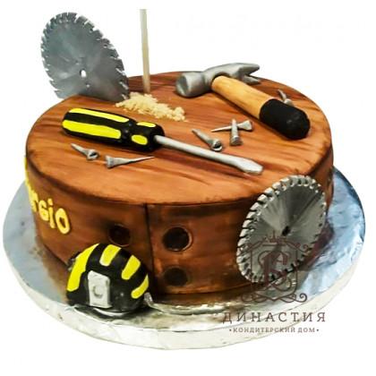 Торт для столяра