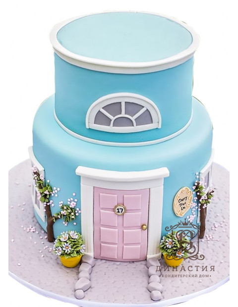 Торт Дом мечты