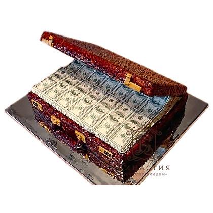 Торт Кейс с деньгами
