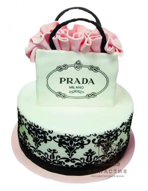 Торт коллекция PRADA