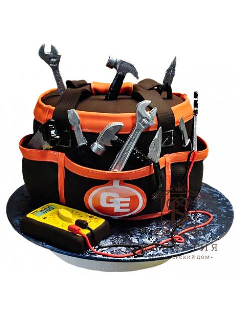 Торт набор для строителя