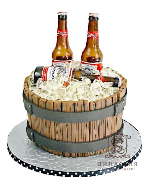 Торт Пиво Будвайзер