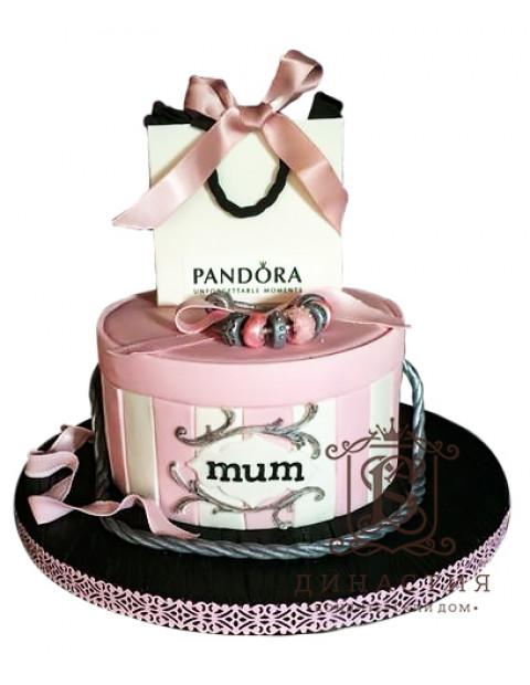 Торт Подарок Пандора
