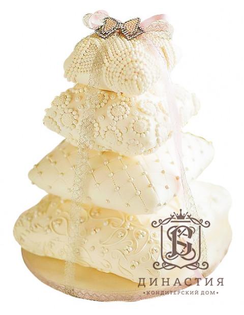 Торт Свадебные подушки