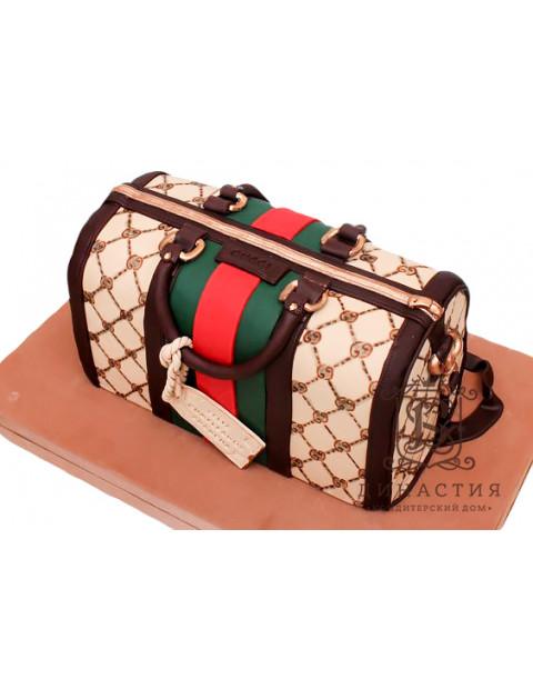 Торт сумка Гуччи