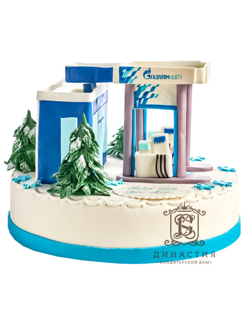 Торт Газпром