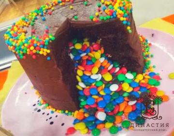 Рецепт торта-пиньята