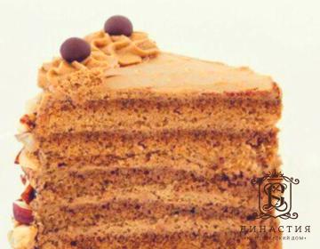 Рецепт кофейного торта «Мокко»
