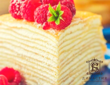 Рецепт блинного торта «Пломбир»