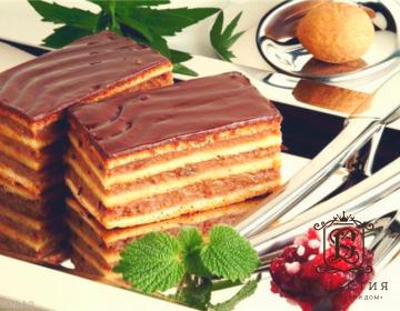 Рецепт торта «Жербо»