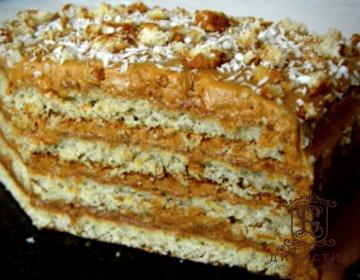Рецепт торта «Пять ложек»