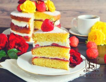 Рецепт торта «Королева Виктория»