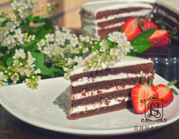 Рецепт «Черемухового торта»