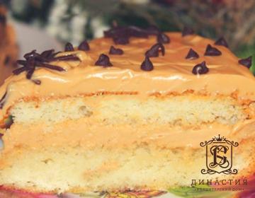 Рецепт торта «Ириска»