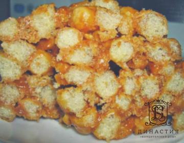 Рецепт торта из кукурузных палочек