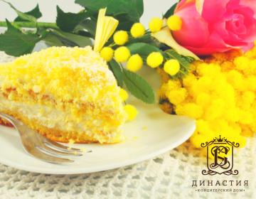 Рецепт торта «Мимоза»