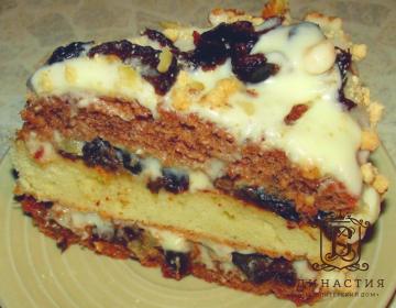 Рецепт торта «Пиковая дама»