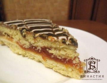 Рецепт торта «Лакомка»