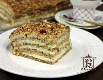 Рецепт «Египетского торта»