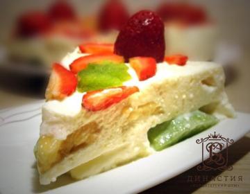 Рецепт торта «Фруктовое наслаждение»