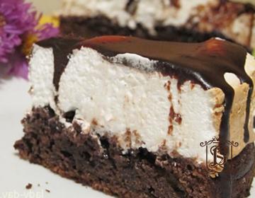 Рецепт торта «Небо и земля»