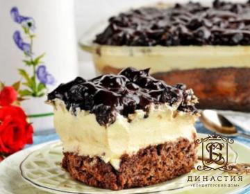 Рецепт торта «Чернослив в шоколаде»