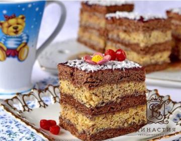 Рецепт торта «Акация»