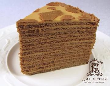 Рецепт торта «Коровка»