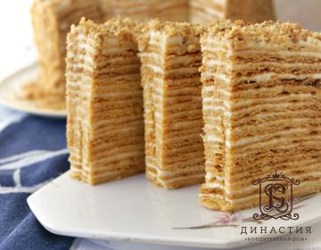 Рецепт торта «Пизанская башня»