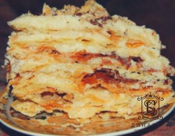 Рецепт торта «Степка-растрёпка»