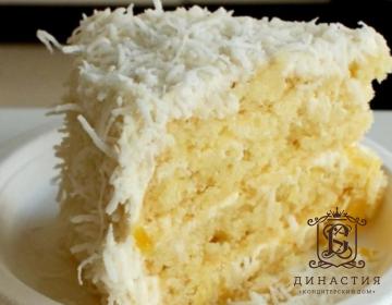 Рецепт ананасового торта