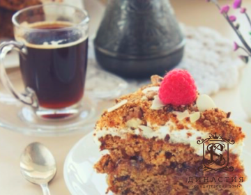 Рецепт финикового торта