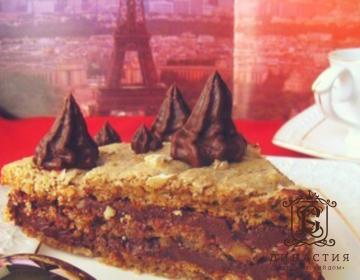 Рецепт торта «Дакуаз с шоколадом»