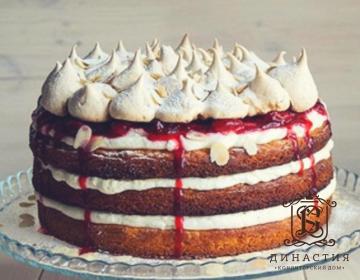 Рецепт торта с клубникой и кремом чиз