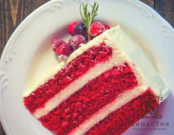 Рецепт торта «Красный бархат» без красителей