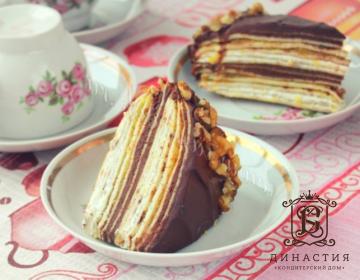 Рецепт торта «Французский крепвиль»