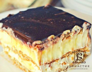 Рецепт торта «Эклер»