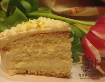 Рецепт бисквитного торта с шампанским