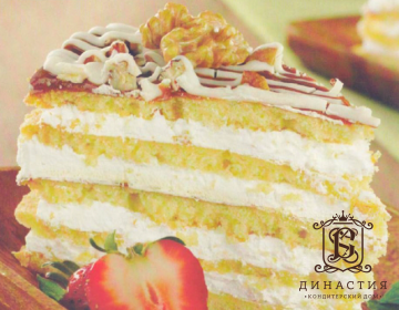 Рецепт торта «Амаретто»