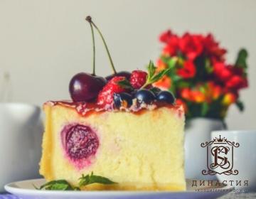 Рецепт торта «Чизкейк с вишней»