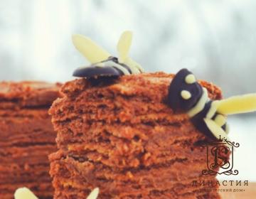 Рецепт торта «Пчелка»