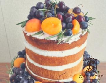 Рецепт голого торта