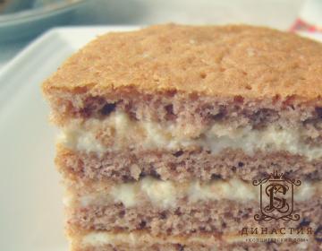 Рецепт гречневого торта